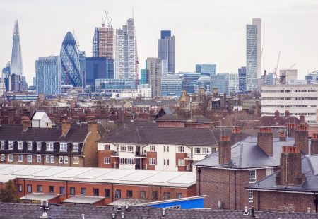 London Skyline from Bethnal Green